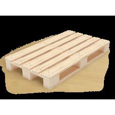 Деревянный поддон 1200*800 мм, грузоподъемность до 1500 кг