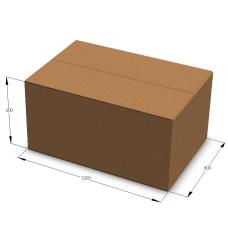 Картонная коробка 1200*800*600 мм П-33 бурый