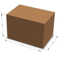 Картонная коробка 1200*800*800 мм П-33 бурый