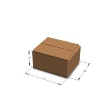 Картонная коробка 190*158*87 мм Т-24 бурый