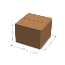 Картонная коробка 215*215*150 мм Т-23 бурый