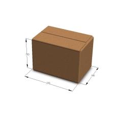 Картонная коробка 230*150*150 мм Т-23 бурый