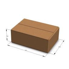 Картонная коробка 300*200*100 мм Т-23 бурый