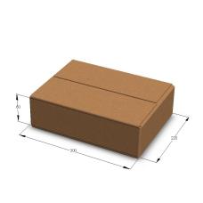 Картонная коробка 300*220*80 мм Т-23 бурый