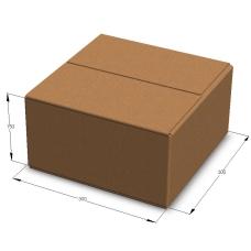 Картонная коробка 300*300*150 мм Т-23 бурый