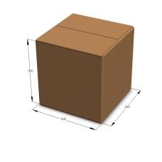 Картонная коробка 300*300*300 мм Т-23 бурый