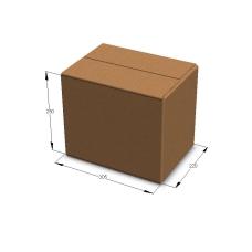 Картонная коробка 305*220*250 мм Т-23 бурый