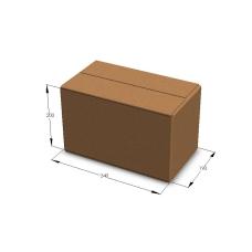 Картонная коробка 340*190*200 мм Т-23 бурый