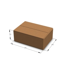 Картонная коробка 355*240*125 мм Т-23 бурый