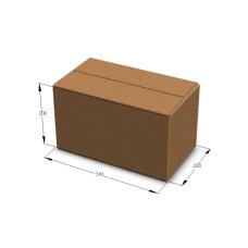 Картонная коробка 360*200*200 мм Т-23 бурый