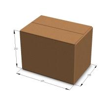 Картонная коробка 365*250*262 мм П-32 бурый