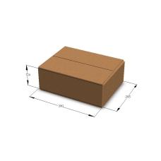Картонная коробка №13 380*285*126 мм Т-23 бурый