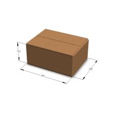 Картонная коробка №14 380*285*162 мм Т-23 бурый