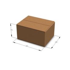Картонная коробка №16 380*285*190 мм Т-23 бурый