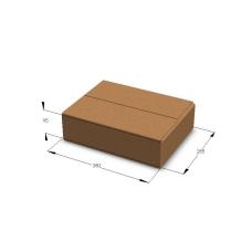 Картонная коробка №12 380*285*95 мм Т-23 бурый