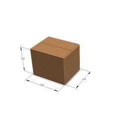 Картонная коробка №38 380*304*285 мм Т-23 бурый