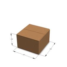 Картонная коробка №21 380*380*228 мм Т-23 бурый