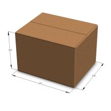 Картонная коробка 395*320*260 мм Т-23 бурый