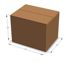 Картонная коробка 400*300*300 мм Т-23 бурый