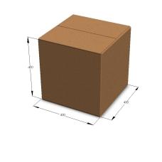 Картонная коробка 400*400*400 мм Т-23 бурый