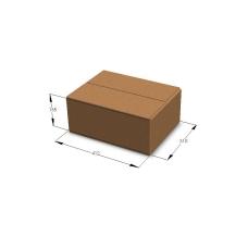 Картонная коробка №52 412*310*165 мм Т-23 бурый