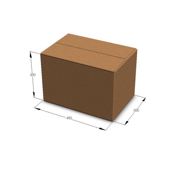 Коробка для переезда 450*300*300 мм (малая)