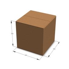 Картонная коробка 500*500*500 мм Т-23 бурый