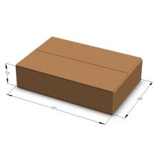 Картонная коробка №15 570*380*126 мм Т-23 бурый