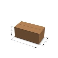 Картонная коробка 580*295*240 мм Т-23 бурый