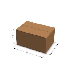 Картонная коробка 580*380*300 мм П-33 бурый