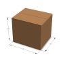 Картонная коробка 600*510*510 мм Т-23 бурый