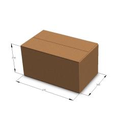 Картонная коробка №34 615*365*315 мм Т-23 бурый