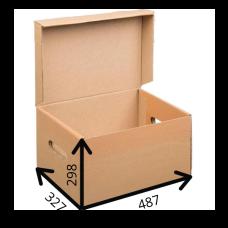 Короб  архивный с крышкой 487*327*298  A3, Т-23