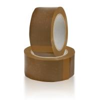 Клейкая лента «Нова Ролл» коричневая 48мм*66м 50мкм