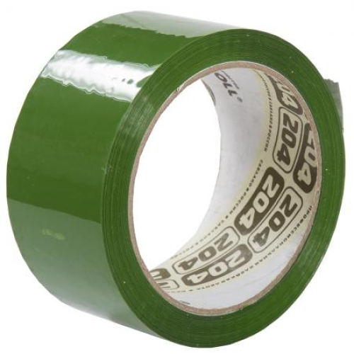 Скотч зеленый, «Нова Ролл» - 48мм*66м, 43 мкм