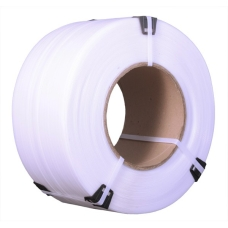 Полипропиленовая лента 12мм х 0,5мм х 3000м (белая)