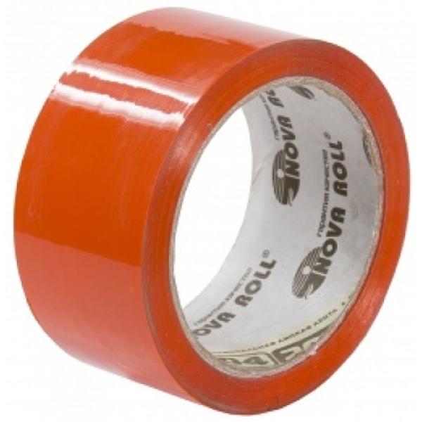 Скотч оранжевый, «Нова Ролл» - 48мм*66м, 43 мкм