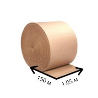 Двухслойный гофрокартон ширина 1.05 м - 150п/м